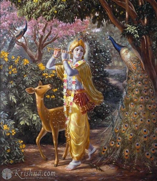 Syamasundara - the all-beautiful Lord